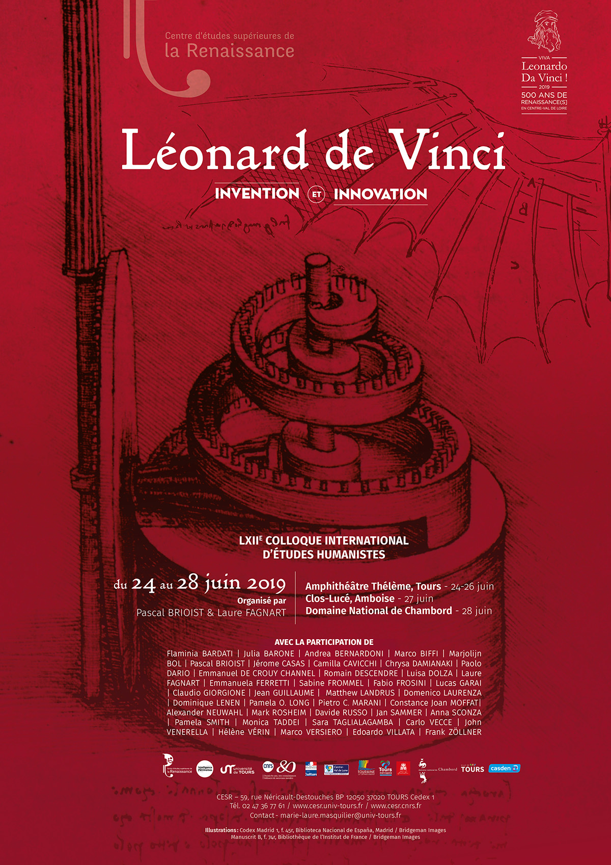 Colloque Leonard de Vinci