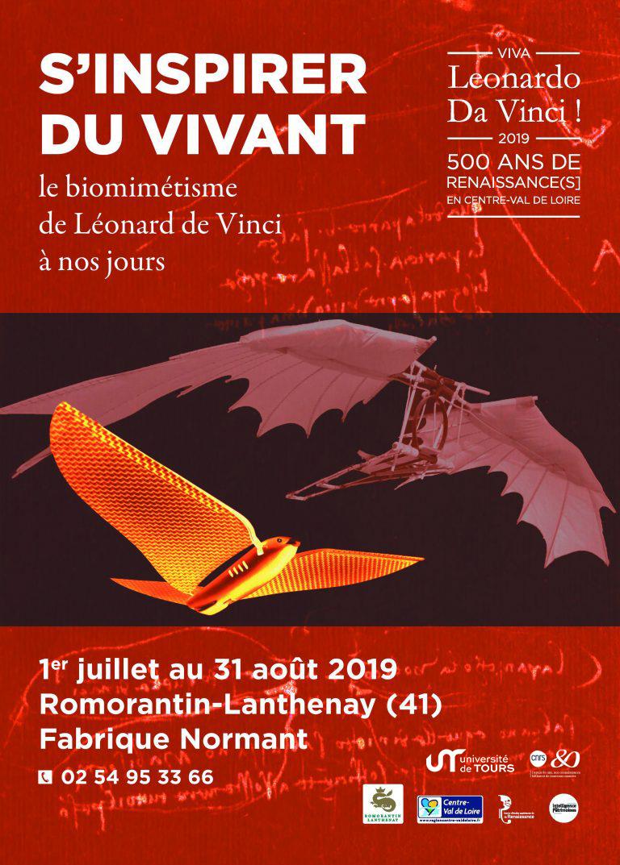 S'inspirer du vivant - expo Léonard de Vinci