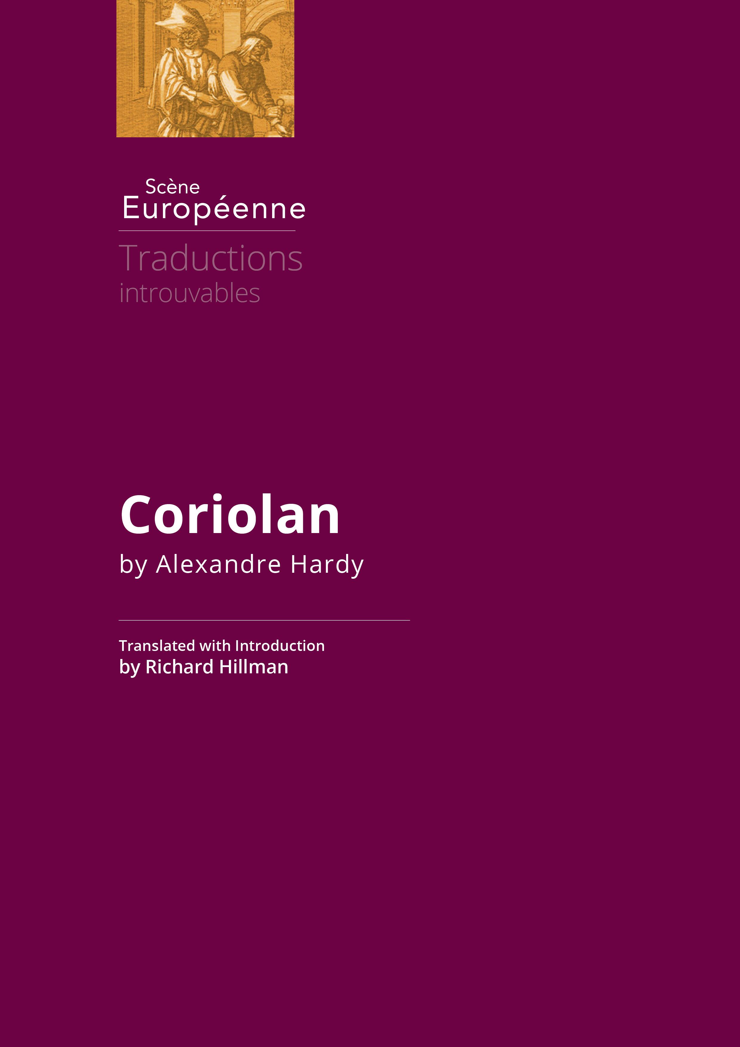 Couverture - Coriolan