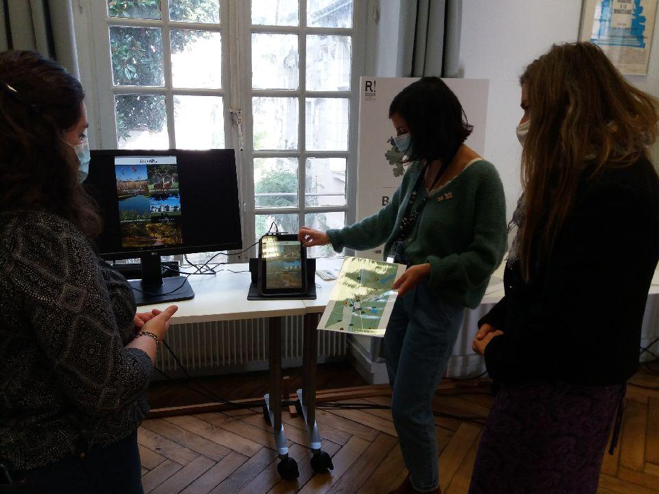 Atelier numérique du programme Intelligence des Patrimoines