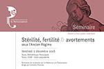 Stérilité fertilité et avortement